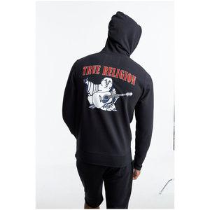 True Religion Men's Zip-Up Hoodie Sweatshirt